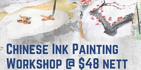 Chinese Ink Painting and Calligraphy Workshop tickets