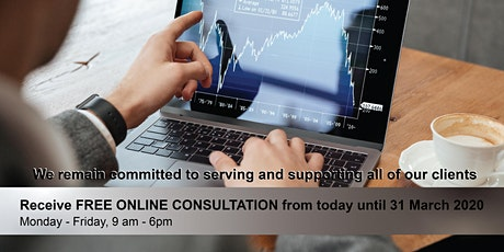 FREE ONLINE CONSULTATION: Forex trading for beginner - Learn from home tickets
