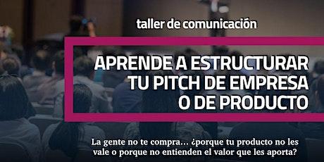 Aprender a estructurar tu pitch de empresa o producto boletos