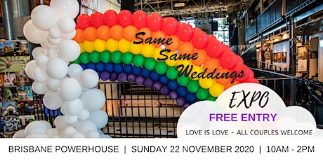 SAME SAME WEDDINGS EXPO BRISBANE - FREE ENTRY tickets