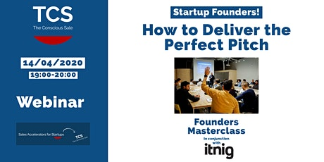 How to Deliver the Perfect Pitch tickets