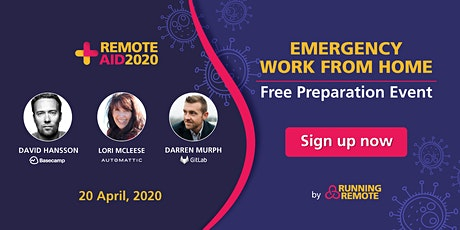Remote AID 2020 - A Free Charity Online Event tickets