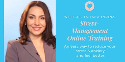 Stress Management Online Training to Reduce Stress