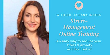 Stress Management Online Training to Reduce Stress & Anxiety and Feel Good tickets