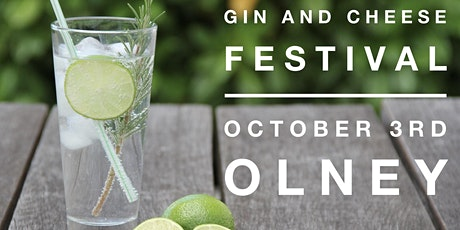 OLNEY GIN AND CHEESE FESTIVAL Re-scheduled from May 2nd! tickets