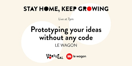 Prototyping Your Ideas without any Coding [Webinar] bilhetes