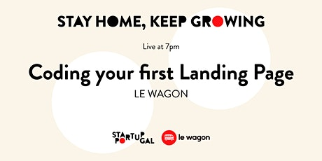 Coding your first Landing Page by Le Wagon [Webinar] tickets