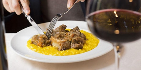 Risotto Milanese with Ossobuco! tickets