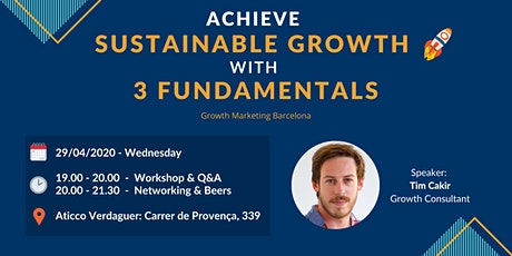 Achieve Sustainable Growth with 3 Fundamentals tickets