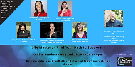Life Mastery - Find Your Path to Success tickets