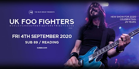 UK Foo Fighters (Sub89, Reading) tickets