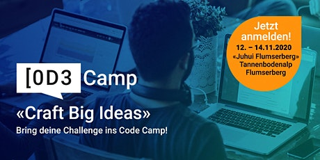ti&m code camp – «Craft Big Ideas» Tickets