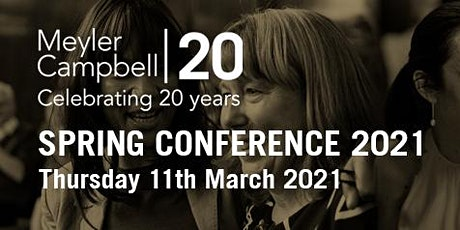 Meyler Campbell Spring Conference 2021 tickets