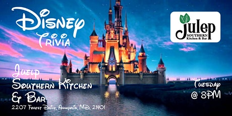 Disney Movie Trivia at Julep's Southern Kitchen & Bar tickets