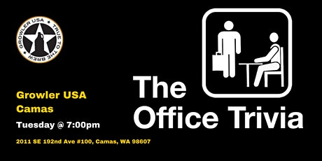 The Office Trivia at Growler USA Camas tickets