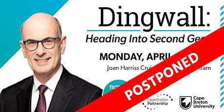 Dingwall: Heading Into Second Gear (Postponed) tickets