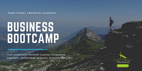 Business Bootcamp voor de Personal Coach tickets