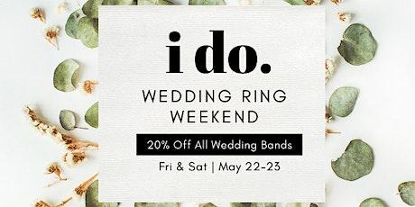 Wedding Ring Weekend tickets