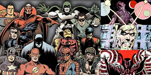 """Webinar: """"The Silver Age of Comics: Rise of the Flawed Superhero"""""""