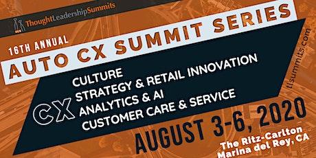 Automotive CX Summit Series tickets