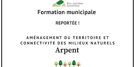 Aménagement du territoire et connectivité des milieux naturels billets