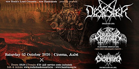 DESASTER (ger) + Supports // CInema, Aalst tickets