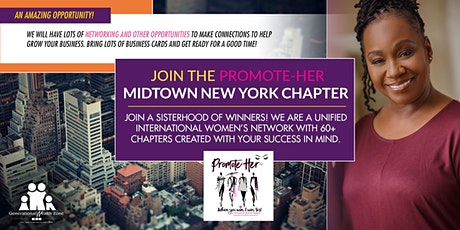 PromoteHER Midtown Manhattan VIRTUAL Chapter Meeting tickets