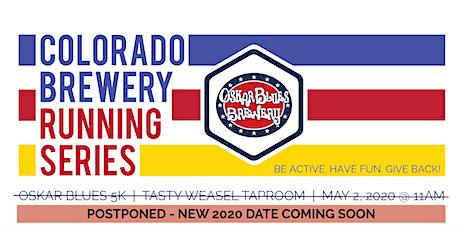 POSTPONED - Beer Run - Oskar Blues 5k   Colorado Brewery Running Series tickets