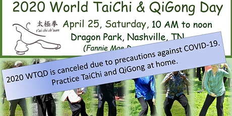 Canceled - 2020 World TaiChi and QiGong Day at Dragon Park tickets