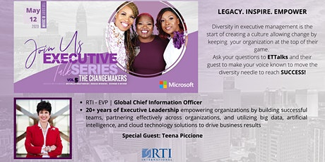 Executive Talk Series - Change Makers Vol. 5 tickets