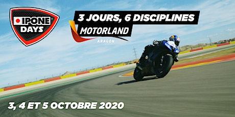 3-4-5 oct. - IPONE DAYS  : le weekend des passionnés motos à Motorland ! entradas
