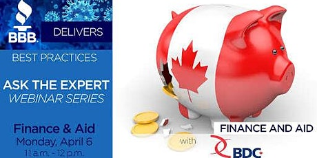 Financing Options for Small Businesses Webinar tickets