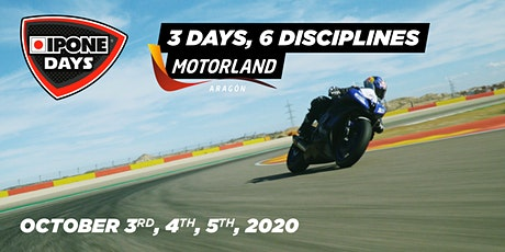 Oct. 3rd, 4th, 5th - IPONE DAYS : motorcycle's lovers weekend in Motorland! entradas