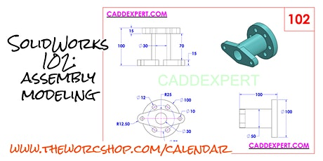 SolidWorks 103: Engineering Drawing Detailing [05.07.2020]  tickets