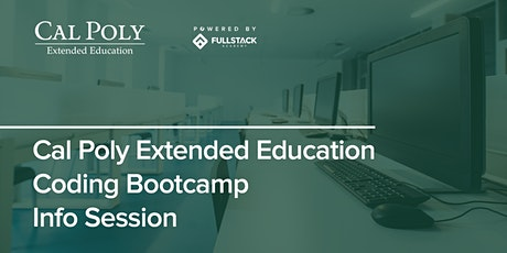 Online Info Session   Cal Poly Extended Ed Coding Bootcamp tickets