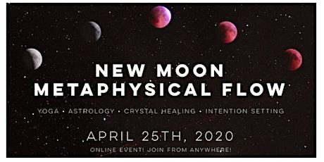 New Moon Virtual Flow - ONLINE EVENT- Yoga + Astrology + Meditation tickets