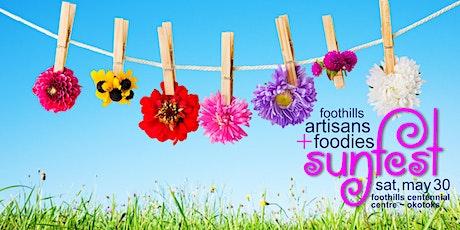 Foothills SUNFEST Market - Artisans + Foodies tickets