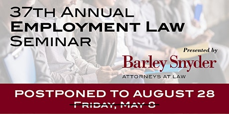 37th Employment Law Seminar tickets