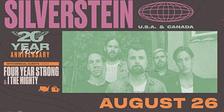 SILVERSTEIN / FOUR YEAR STRONG / I THE MIGHTY tickets