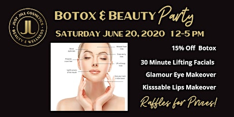 Botox and Beauty Party tickets