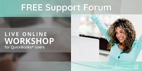Free Support Forum for QuickBooks Users tickets