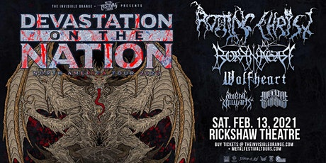 Devastation On the Nation  Tour with Rotting Christ, Borknagar, and more