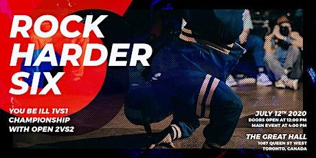 Rock Harder Six tickets