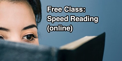 Speed Reading Class - Fremont