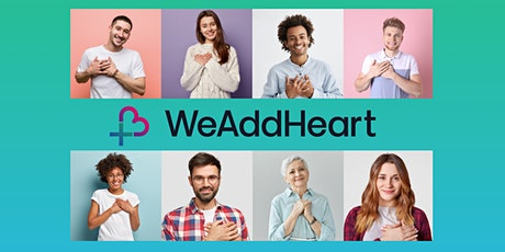 HeartMath UK+IRL's open WeAddHeart group [online] tickets