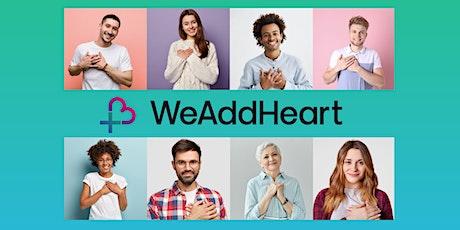 WeAddHeart Swindon [online] tickets