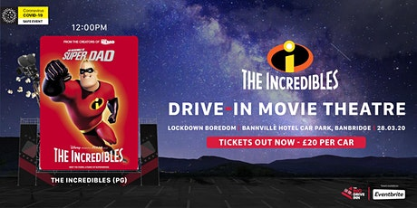 The Big Drive-Inn - The Incredibles (PG) - Drive-in Theatre tickets