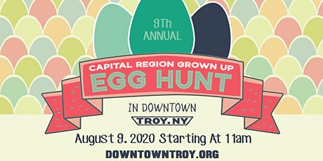 POSTPONED TO AUGUST 9 | 9th Annual Capital Region Grown Up Egg Hunt tickets