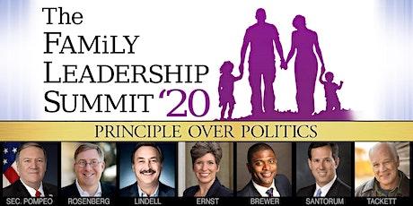 The Family Leadership Summit 2020 tickets
