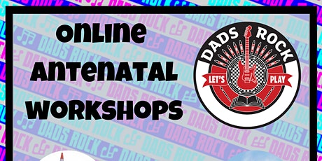 Antenatal Workshop for Dads to be - Online  tickets